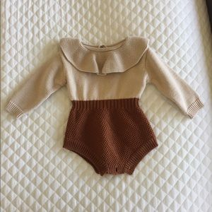 Other - Knit baby romper